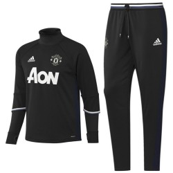 Manchester United technical training suit 2016/17 black - Adidas