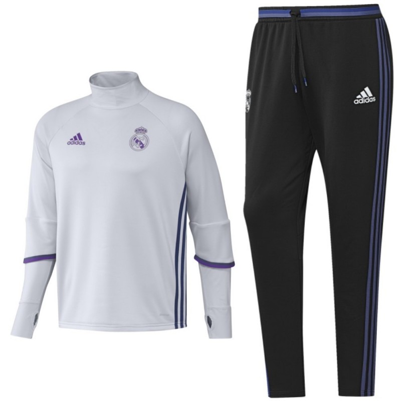 real madrid technical trainingsanzug 2016 17 adidas. Black Bedroom Furniture Sets. Home Design Ideas