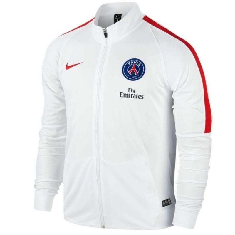 paris saint germain trainingsanzug 2016 17 weiss nike