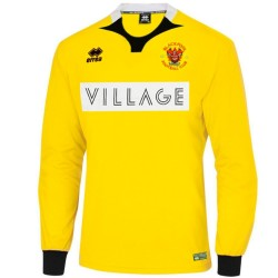 Blackpool FC goalkeeper shirt Home 2015/16 - Errea