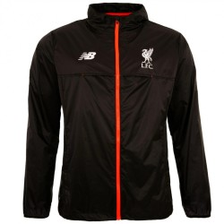 Liverpool FC black rain jacket 2016/17 - New Balance