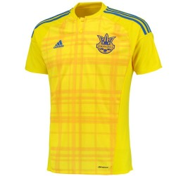 Ukraine national team Home football shirt 2016/17 - Adidas