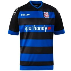 FSV Frankfurt Home football shirt 2013/14 - Saller