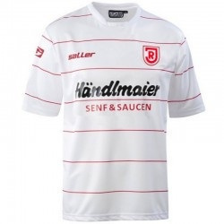 Jahn Regensburg Home football shirt 2013/14 - Saller