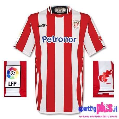Athletic Club de Bilbao Soccer Jersey Home 09/10 by Umbro