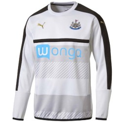 Newcastle United training sweatshirt 2016/17 white - Puma