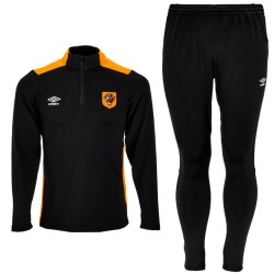 Hull City black technical training tracksuit 2016/17 - Umbro