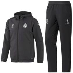 Real Madrid Champions League presentation tracksuit 2016/17 - Adidas