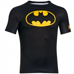 "Under Armour ""Transform Yourself"" Batman compression shirt"