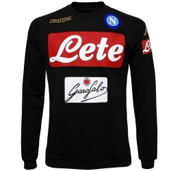SSC Napoli black training sweatshirt 2016/17 - Kappa