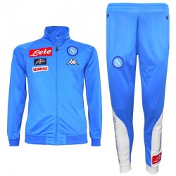 SSC Napoli light blue training tracksuit 2016/17 - Kappa