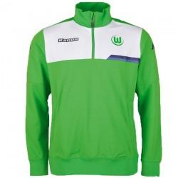 VfL Wolfsburg tech training sweatshirt 2015/16 - Kappa