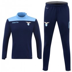 SS Lazio navy training technical tracksuit 2016/17 - Macron