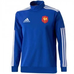 France rugby team tech training sweat top 2015 - Adidas