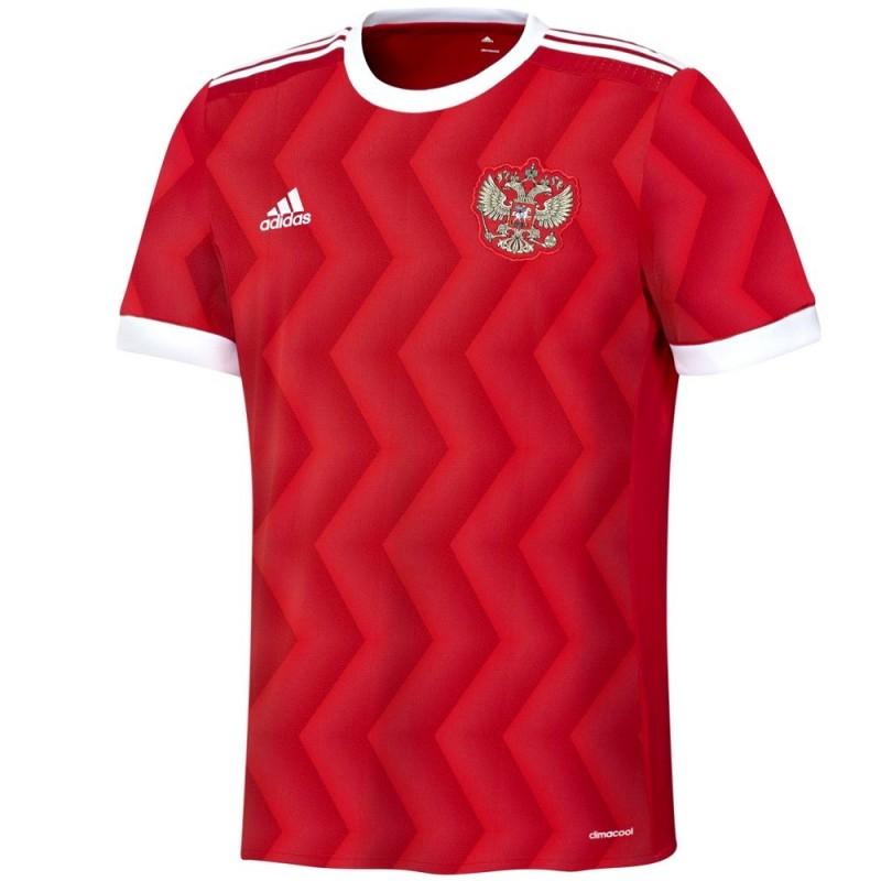 Russia Home Football Shirt 2017