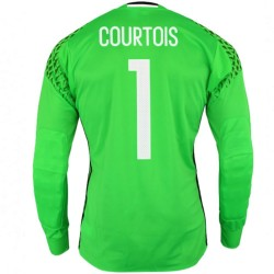 Belgium Home goalkeeper shirt 2016/17 Courtois 1 - Adidas