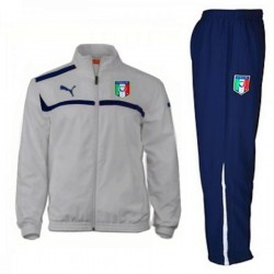 Italien Nationalmannschaft Presentation Trainingsanzug 2012/14 grau - Puma