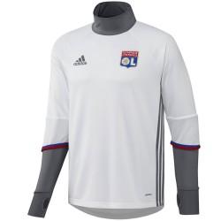 Olympique Lyon Technical Trainingssweat 2016/17 weiss - Adidas