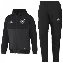 Germany football black presentation tracksuit 2017 - Adidas