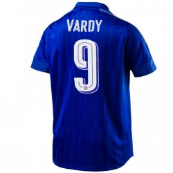 Leicester City FC Home football shirt 2016/17 Vardy 9 - Puma