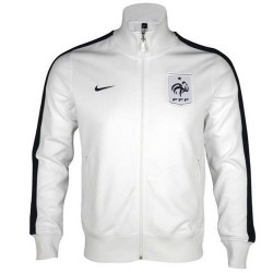 National Representation N98 Jacket Nike France-White/Blue