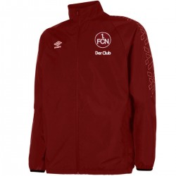 FC Nurnberg squad training rain jacket 2016/17 - Umbro