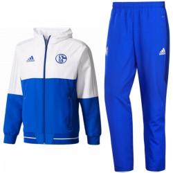 Schalke 04 presentation tracksuit 2017/18 - Adidas