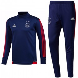 Ajax Amsterdam technical training tracksuit 2017/18 navy - Adidas