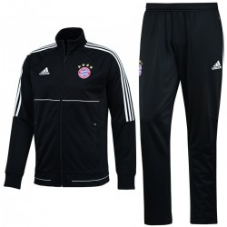 Bayern Munich black training tracksuit 2017/18 - Adidas