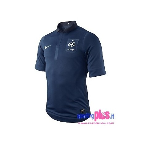 France National Soccer Jersey Home 11/12 Player Issue for race-Nike