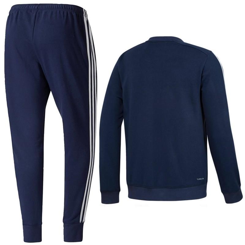 bayern m nchen sweat trainingsanzug 2017 18 blau adidas. Black Bedroom Furniture Sets. Home Design Ideas