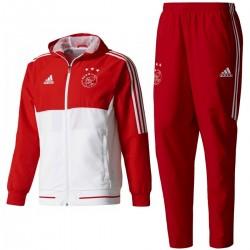 Ajax Amsterdam präsentation trainingsanzug 2017/18 - Adidas