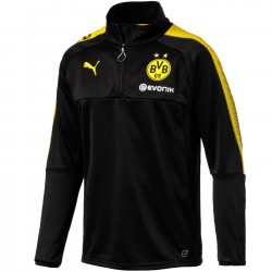 Borussia Dortmund black training technical sweatshirt 2017/18 - Puma