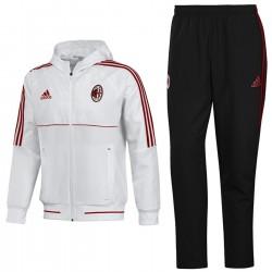 AC Milan football presentation tracksuit 2017/18 - Adidas