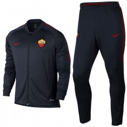 AS Roma black training presentation tracksuit 2017/18 - Nike