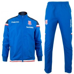 Stoke City FC training presentation tracksuit 2017/18 - Macron