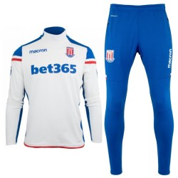 Stoke City FC training technical tracksuit 2017/18 - Macron