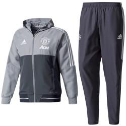 Manchester United präsentation trainingsanzug 2017/18 - Adidas