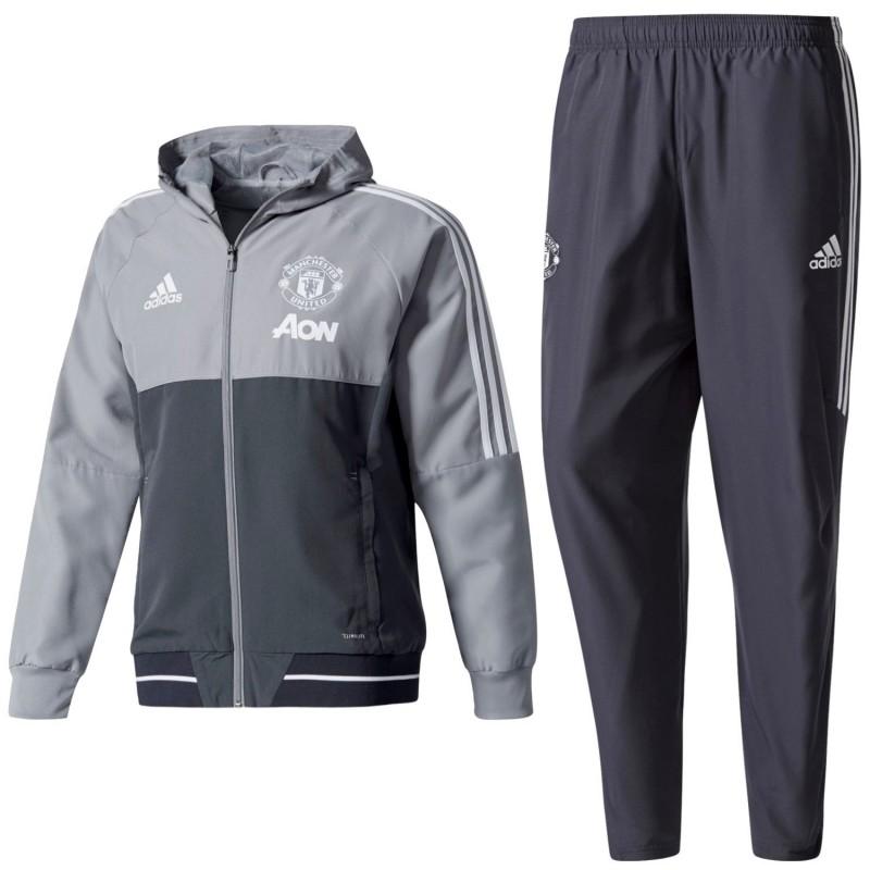 Manchester United Presentation Tracksuit 2017 18 Adidas