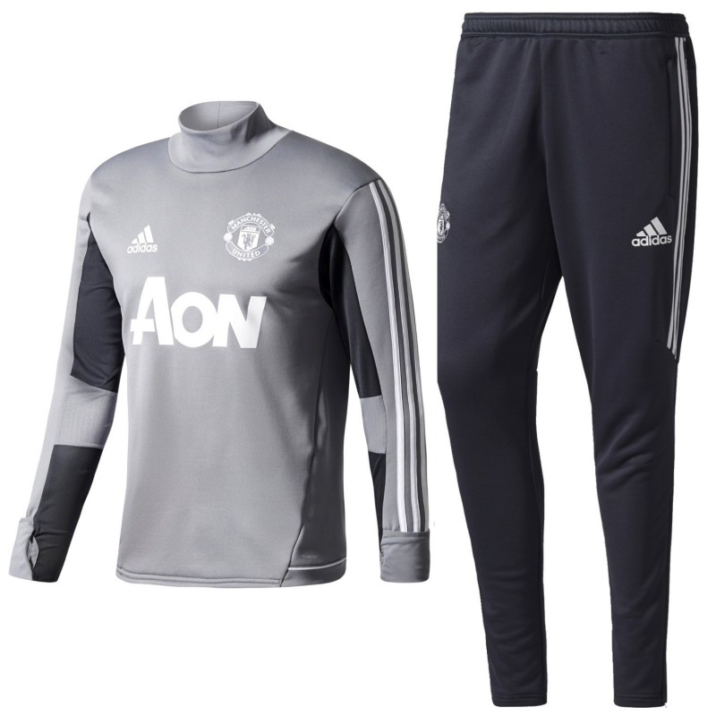 Manchester United Training Tech Tracksuit 2017 18 Adidas