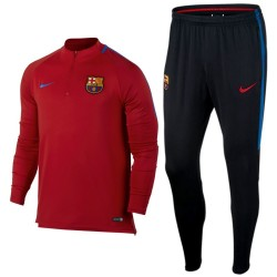 FC Barcelona red training technical tracksuit 2017/18 - Nike