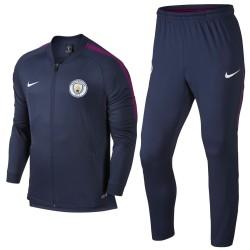 Manchester City navy presentation tracksuit 2017/18 - Nike