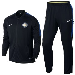 Inter Milan black training presentation tracksuit 2017/18 - Nike