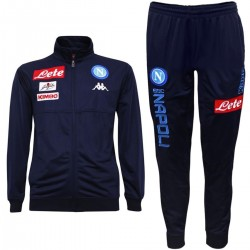 SSC Napoli Player Trainingsanzug 2017/18 blau - Kappa