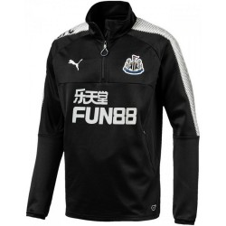 Newcastle United training tech sweatshirt 2017/18 black - Puma