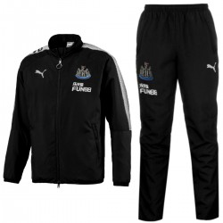 Newcastle United woven presentation tracksuit 2017/18 black - Puma