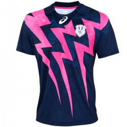 Stade Francais Home rugby jersey 2015/16 - Asics