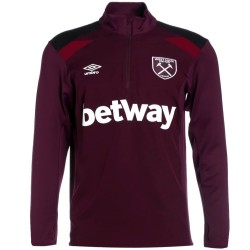 West Ham United technical training sweatshirt 2017/18 - Umbro