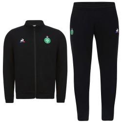 ASSE Saint-Étienne black presentation suit 2017/18 - Le Coq Sportif