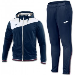 Joma Teamwear Granada training hooded tracksuit - blu navy